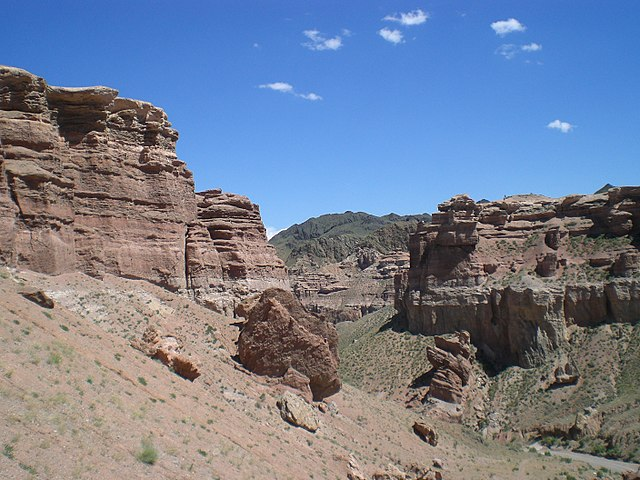charyn canyon day view