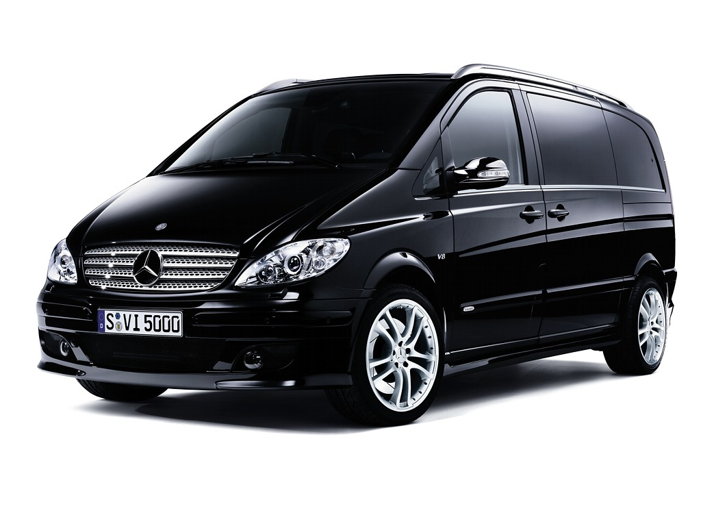 Almaty 6-seater Mercedes Viano luxury passenger minivan rental, hire with a driver