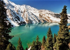 Big Almaty Lake private sightseeing guided tour