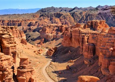 Charyn canyon private sightseeing guided tour