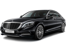 Almaty Mercedes S550 W222 luxury sedan car rental, hire with a driver